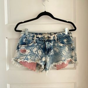 Bleached & Distressed Shorts